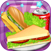 sandwich kids baking games