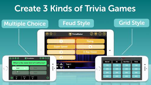 TriviaMaker - Quiz Creator, Game Show Trivia Maker 6.1.2 screenshots 1