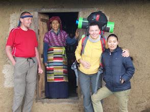 Photo: zurück in Tashaingong