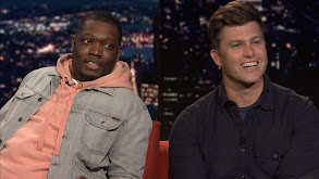 Michael Che; Colin Jost; Kaitlyn Dever; BTS thumbnail