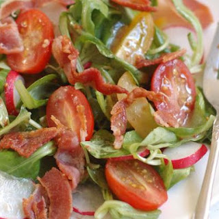 Lamb's Lettuce & Crispy Bacon Salad