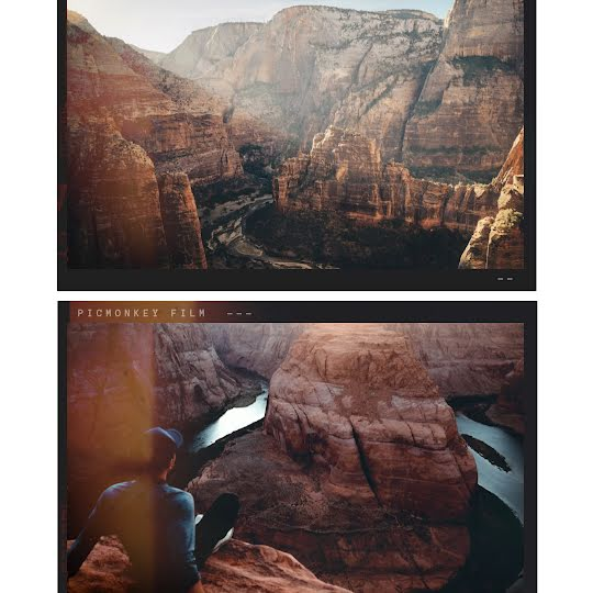 Canyon Horizontal - Instagram Post Template