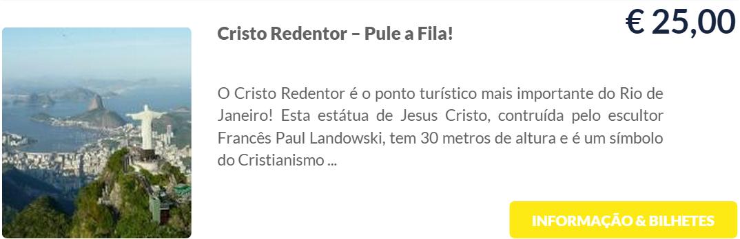 Cristo Redentor - Compre ingressos sem fila para atrações no Rio de Janeiro