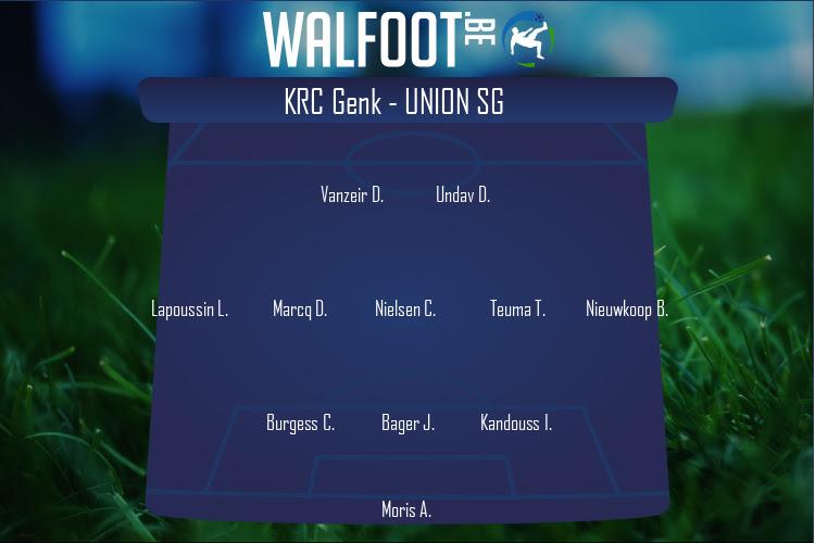 Union SG (KRC Genk - Union SG)