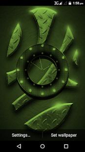 Cool Clock Live WallPaper - náhled