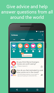 CoVerse - Ask, Answer, Socialize- screenshot thumbnail
