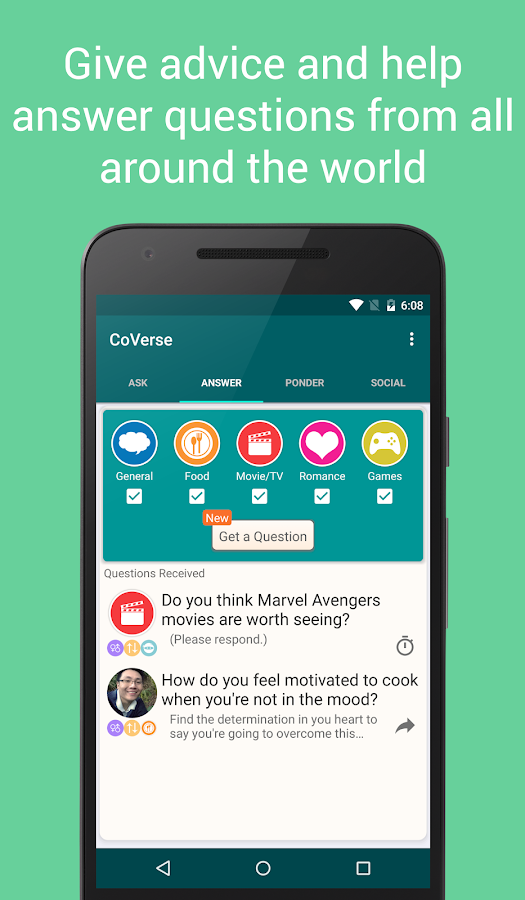CoVerse - Ask, Answer, Socialize- screenshot