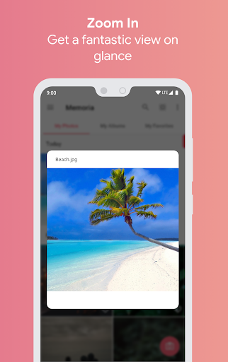 Screenshot for Memoria Photo Gallery Pro in United States Play Store