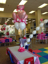 Photo: princess party-special link-o-loon special bouquet