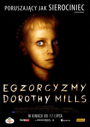 Przód ulotki filmu 'Egzorcyzmy Dorothy Mills'
