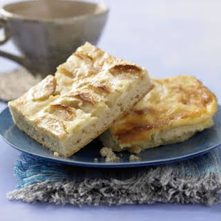 Apple Cake with Sour Cream Topping.