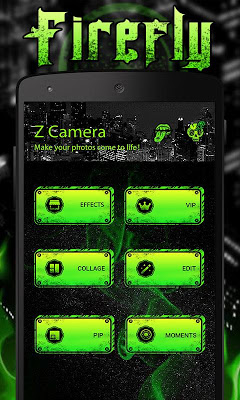 (FREE) Z CAMERA FIREFLY THEME - screenshot