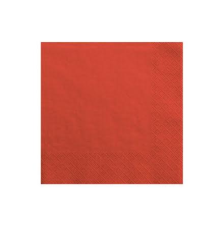 Servetter - Röda