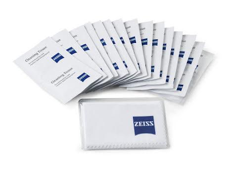 20-pack rengöringsservetter Zeiss