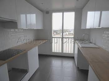 Appartement 4 pièces 90,59 m2