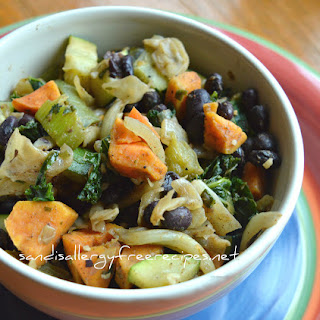 Black Bean & Veggie Bowl (Gluten Free/ Dairy Free/ Vegan)