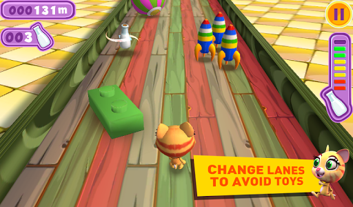 Racing Cat Runner: Speed Jam screenshot 6