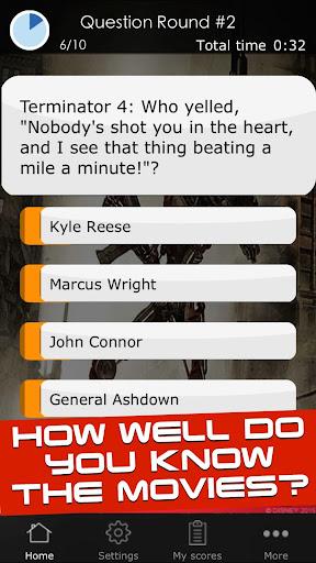 Quiz for the Terminator Movies 1 screenshots 9