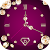 Gold Diamond Moving Clock Wallpaper file APK for Gaming PC/PS3/PS4 Smart TV