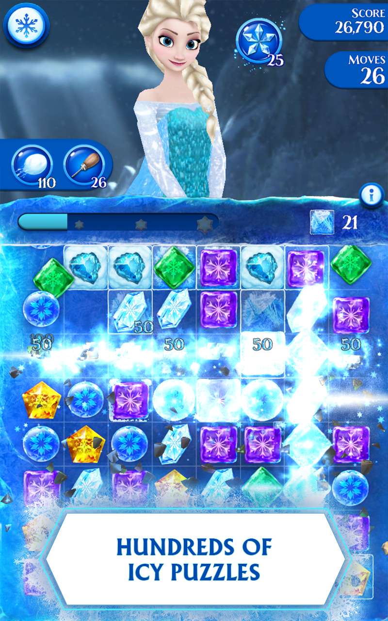 Frozen Free Fall Screenshot 0