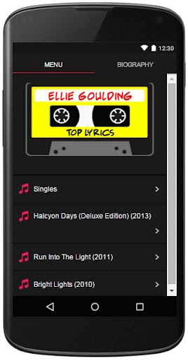 Ellie Goulding Lyrics Top