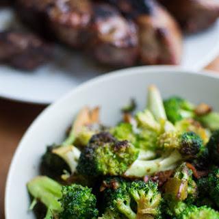 Sauteed Broccoli.