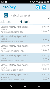 mePay screenshot 1
