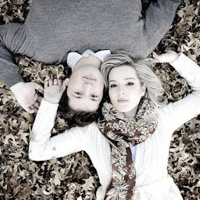 Qutumn Couple by Albert Bredenhann - People Couples