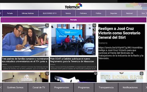 Telemax Sonora screenshot 8