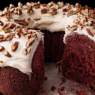 Red Velvet Bundt Cake with Cream Cheese Frosting