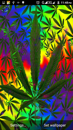 Weed Live Wallpaper!