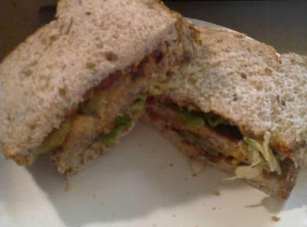 Tuna Melt W/sun Dried Tomatoes & 12 Gr Bread