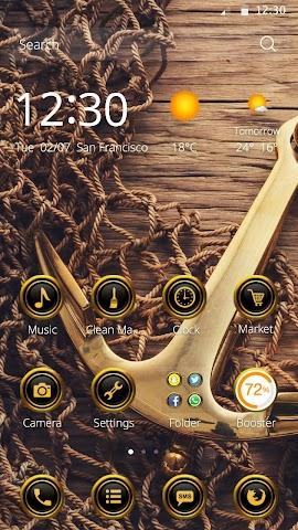 android Anchor DIY Theme Screenshot 1