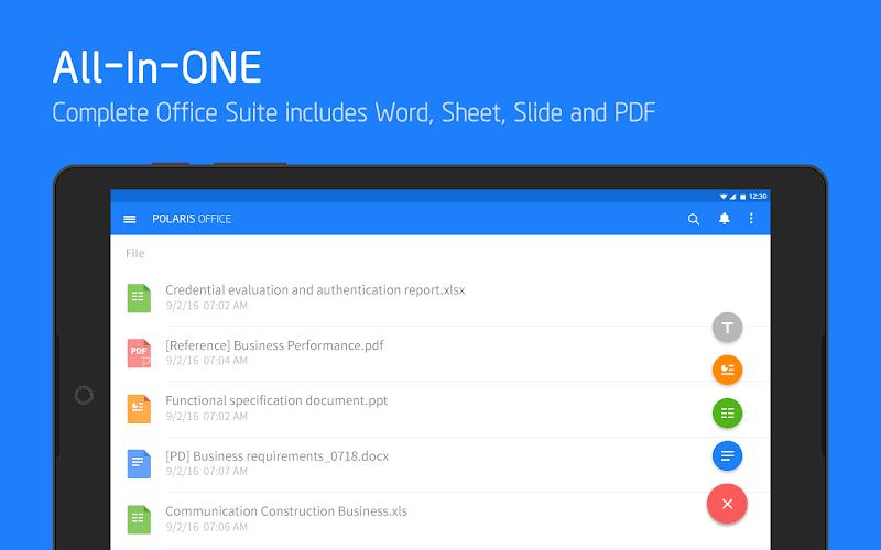 Polaris Office - Word, Docs, Sheets, Slide, PDF Screenshot 8