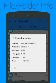 EZ File Manager(Root Explorer)