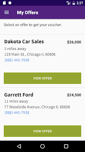 Cars.com Quick Offer- screenshot thumbnail