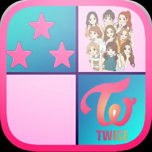 TWICE FULL ALBUM PIANO TILES (game)