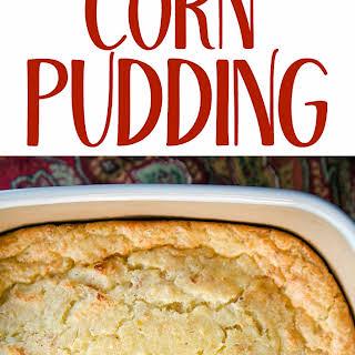 Sweet Corn Pudding.
