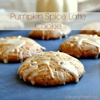 Pumpkin Spice Latte Cookie