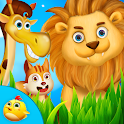 My Little Animal Zoo For Kids icon