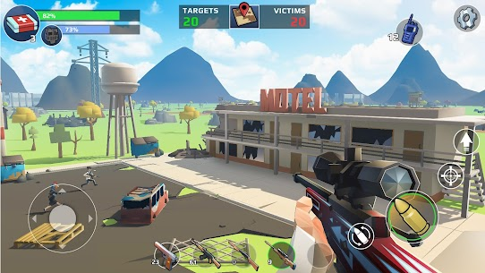 Battle Royale: FPS Shooter Mod 1.10.03 Apk [Unlimited Banknotes] 8