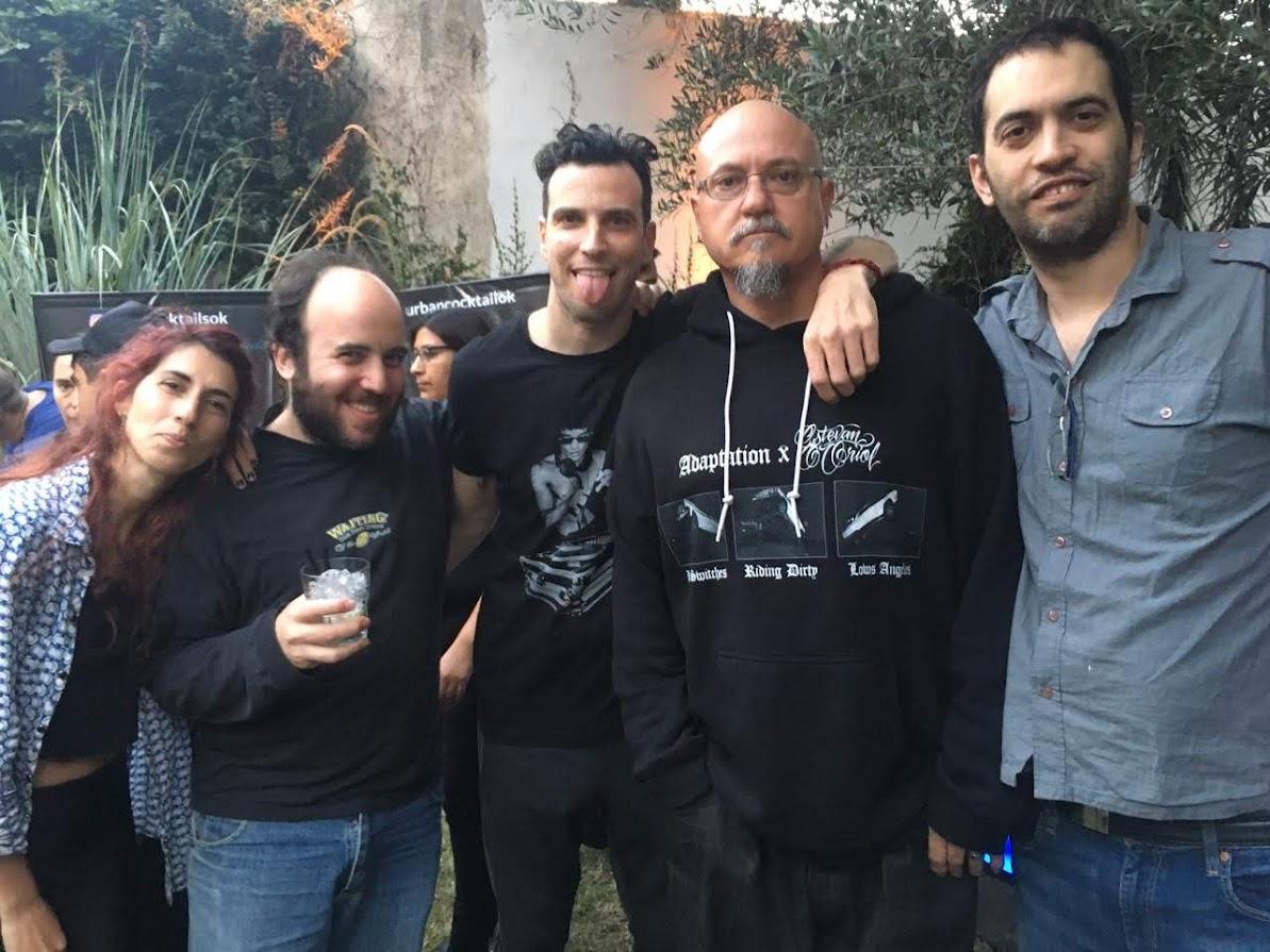 De izquierda a derecha: Guillermina Chiariglione, Jonathan Smeke, Brian Maya, Estevan Oriol y Guillermo Gatti.