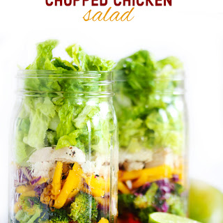 Thai Chopped Chicken Salad with Chili Vinaigrette