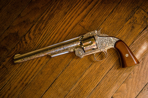 Wyatt Earp 1874 Schofield .44 Smith and Wesson revolver by Florin Marksteiner - Artistic Objects Antiques ( tombstone, schofield, arizona, wyatt earp, smith and wesson, six shooter, revolver,  )