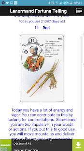 Lenormand Fortunetelling- screenshot thumbnail