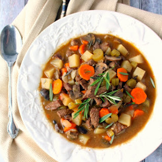 Slow Cooker Sirloin Beef Stew