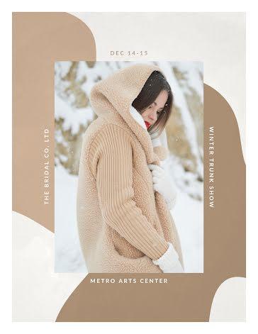 Winter Trunk Show - Flyer template