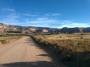 Photo: Ghost Ranch in the distance