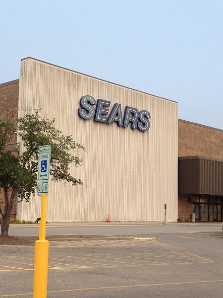 Photo: Shopping at Sears!