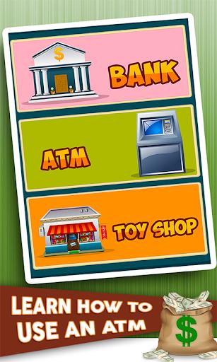 ATM孩子学习模拟器